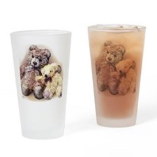 Teddies Drinking Glass