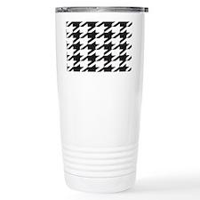 houndsooth tag 1 Travel Mug