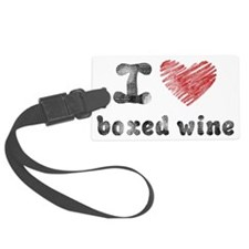 boxedwine Luggage Tag
