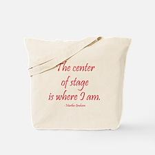 Martha Graham Tote Bag
