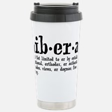 liberaldef Stainless Steel Travel Mug