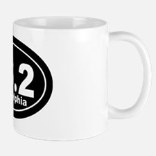 262_Philadelphia_blk Small Small Mug