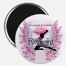 twilight pink angel by twibaby copy Magnet