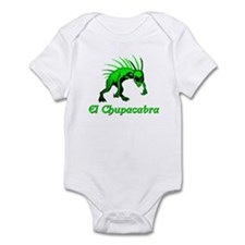 El Chupacabra Green Infant Bodysuit