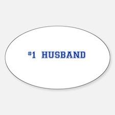 #1 Husband Decal