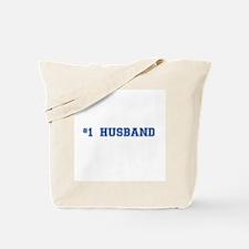 #1 Husband Tote Bag