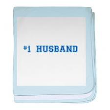 #1 Husband baby blanket