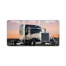 CLASSBEAUTY Aluminum License Plate
