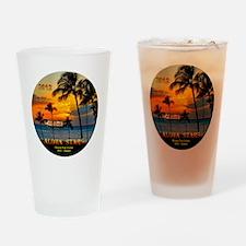 Aloha STARS Round Trip Cruise SFO-H Drinking Glass