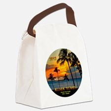 Aloha STARS Round Trip Cruise SFO Canvas Lunch Bag