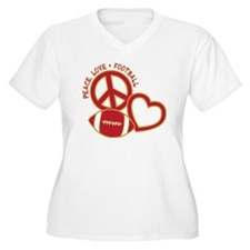 Niner red, Peace, T-Shirt