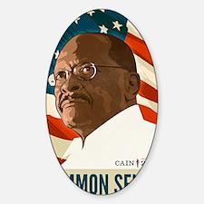 Herman Cain Common Sense 2012 Decal