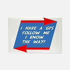 Follow Me Rectangle Magnet
