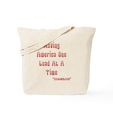 MOVING AMERICA6 Tote Bag
