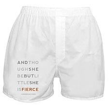 She is Fierce 5x8 Boxer Shorts