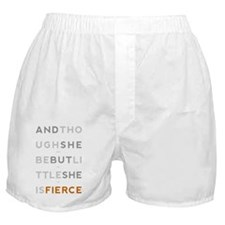 She is Fierce 11x17 Boxer Shorts