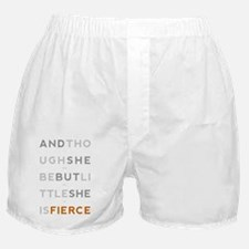 She is Fierce 11x17 Boxer Shorts