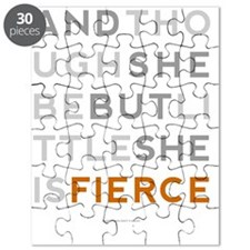 She is Fierce 16x20 Puzzle