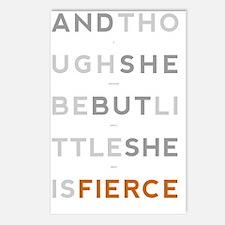 She is Fierce 23x35 Postcards (Package of 8)