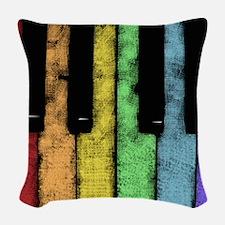 PIANO Woven Throw Pillow