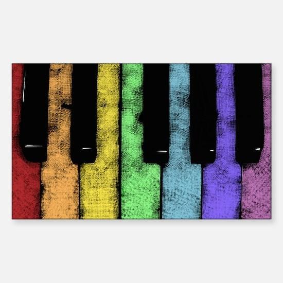 PIANO Sticker (Rectangle)