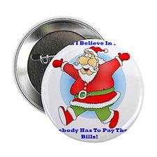 "Santa Bills 10x10 Clr 2.25"" Button"