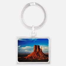 Monument Valley Icon Landscape Keychain
