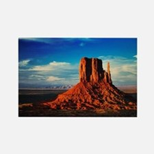 Monument Valley Icon Rectangle Magnet
