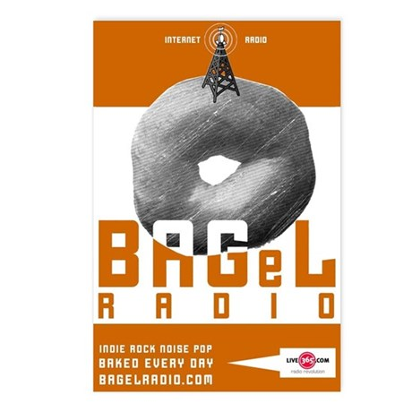 BAGeL Radio Postcards (Package of 8)