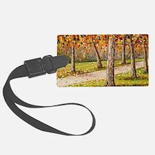 Autumn Path Luggage Tag