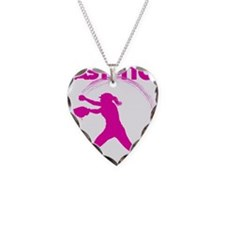 pink, fastpitch Necklace
