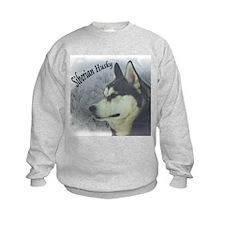 Siberian Husky Reflections Sweatshirt