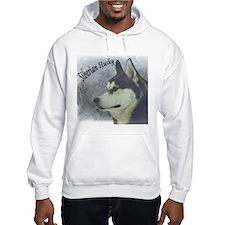 Siberian Husky Reflections Hoodie