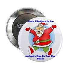 "Santa Bills 10x10 Clr2 2.25"" Button"