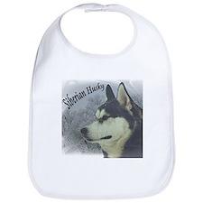 Siberian Husky Reflections Bib