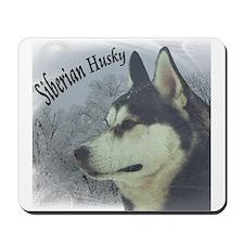 Siberian Husky Reflections Mousepad