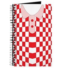 iShirt Checkers Red iPhone Skin Journal