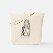 Threefoot Illustration Tote Bag