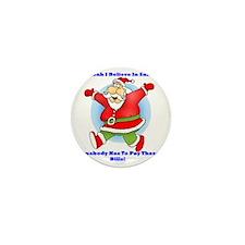Santa Bills 10x10 Clr2 Mini Button