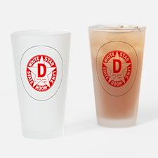 whitestar Drinking Glass