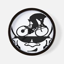 BigHeadZ Bike1 Wall Clock