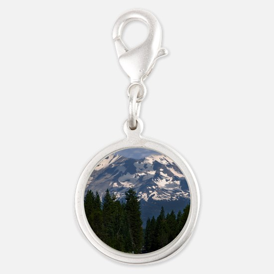 (15) Shasta On The Road Again Silver Round Charm