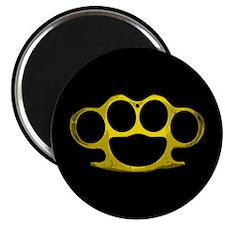 Brass Knuckles Magnet