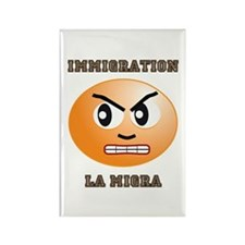 Immigration/La Migra Rectangle Magnet