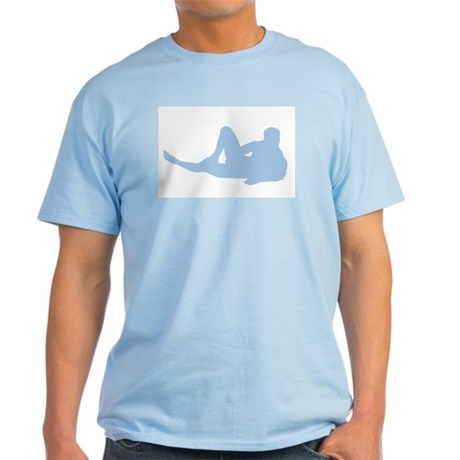 """""""Hank"""" Light Blue T-Shirt"""