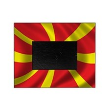 macedonia_flag Picture Frame
