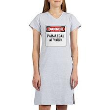 DN PARALEGAL WORK Women's Nightshirt