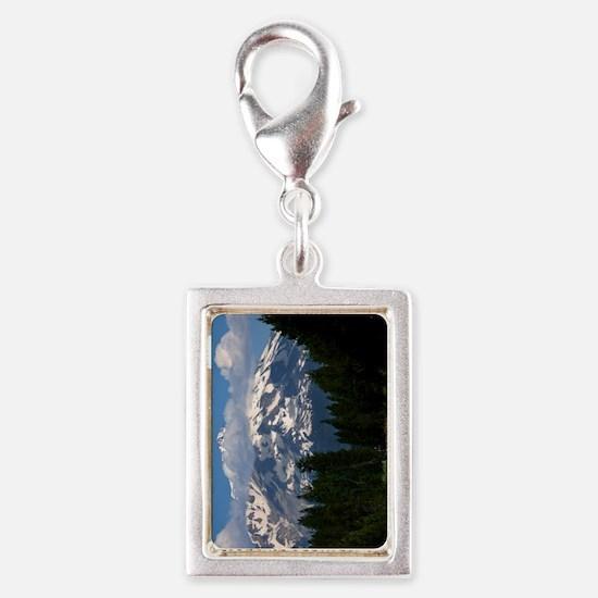 (9) Shasta On The Road Again Silver Portrait Charm