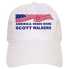 Scott walker america needs more scott walkersb Baseball Cap