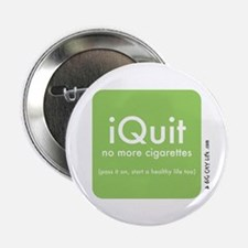 """help QUIT smoking 2.25"""" Button (10 pack)"""
